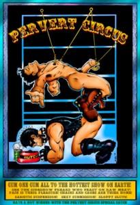 """AXEL, """"Pervert Circus"""", 2009, Print 8/20"""