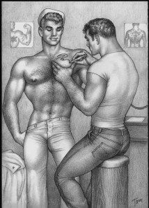 TOM OF FINLAND (Finnish, 1920 – 1991), Untitled, 1962, Graphite on paper, ToFF #62.07, © 2010 Tom of Finland Foundation