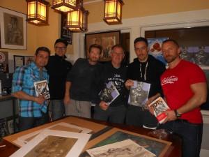 Dean, Rob, Bob, Michael, Diego, Blaire