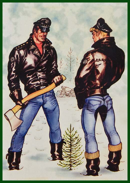 TOM OF FINLAND (Touko Laaksonen, Finnish, 1920 – 1991), Untitled (Colorized), ToFF #63.48, © 1963 Tom of Finland Foundation