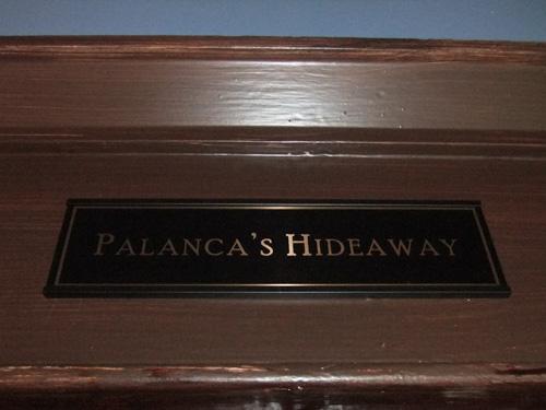 Palanca's Hideaway signage