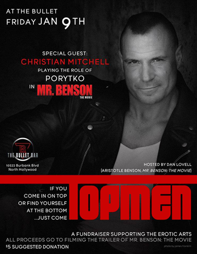 The Bullet Bar Presents TOPMEN Hosted by Dan Lovell: Friday, Jan